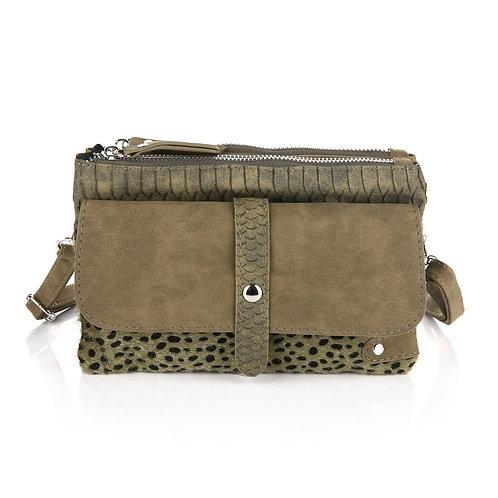 The Green Leopard - Crossbody Bag