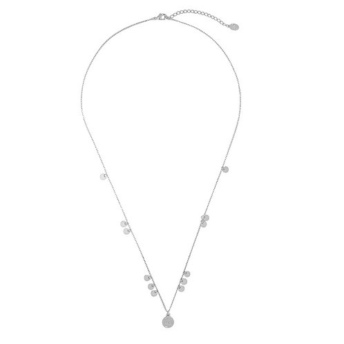 Ketting 'More Coins' - Zilver