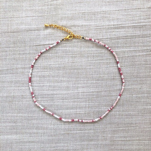 Kralenketting - 'Better in Pink'