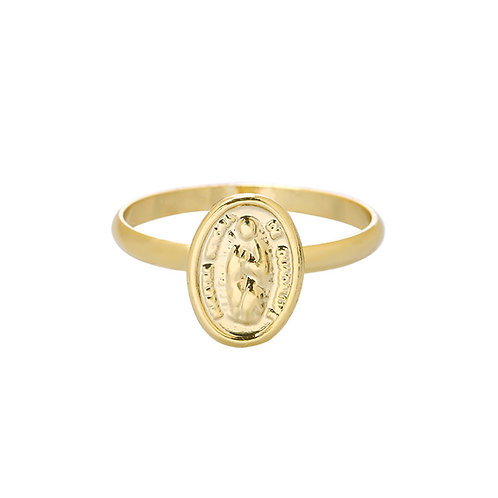 Ring 'The Mary' - Goud