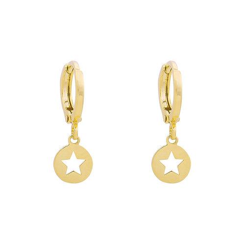 Oorbellen 'Catch a Star' - Goud