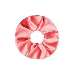 Velvet Scrunchie - Hot Pink