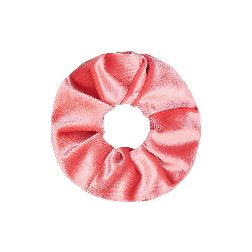 Velvet Scrunchie - Hot Pink