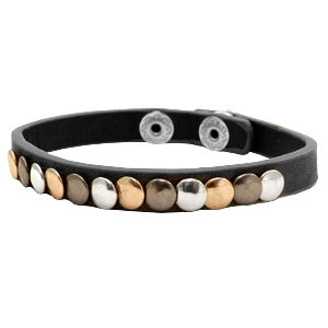 Armband 'Studs' - Zwart