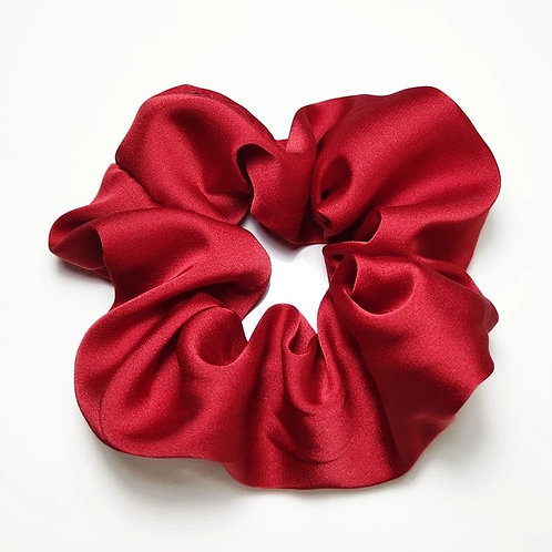 Satin Scrunchie - Rood