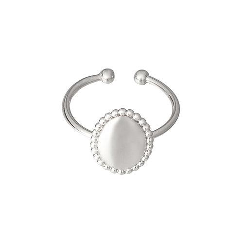 Ring 'Medallion' - Zilver