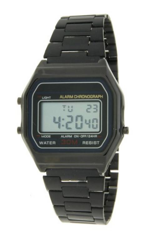 Horloge 'Old Skool' - Zwart