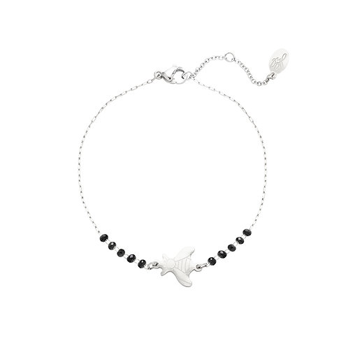 Armband 'Fly Away' - Zilver