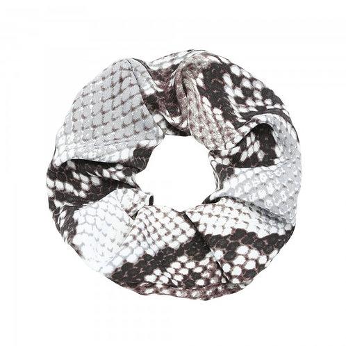 Snake Scrunchie - Grijs