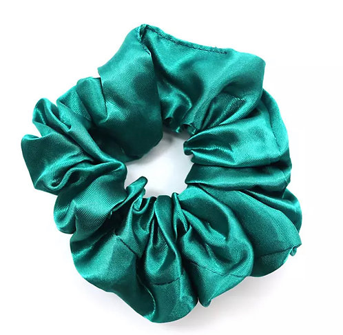 Satin Scrunchie - Emerald
