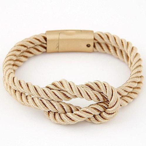 Armband 'Sailor' - Beige