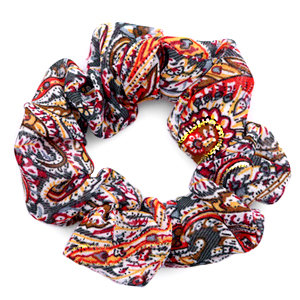 Printed Scrunchie - Paisley