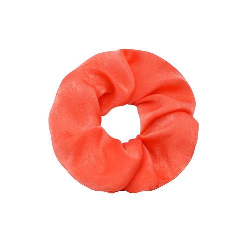Satin Scrunchie - Oranje
