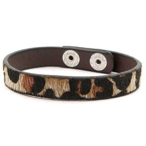 Armband 'Leopard' - Bruin