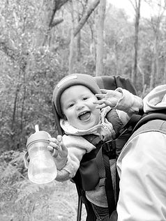 Kiki kuiper is the youngest Peninsula Nomads team member. The 1.5 year old adventurer makes sure to keep Merijn and Laura focussed, flexible and creative!
