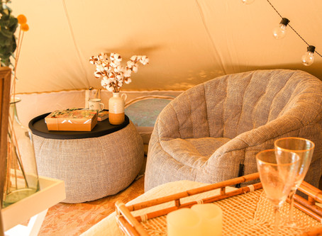 The perfect Glamping Experience: Our essentials for creating the perfect vibe.