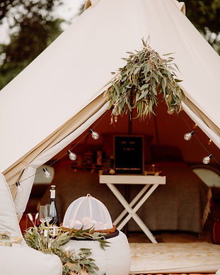 Our 4.5 mtr bell TIPI tent completely styled and decorated for a special and unqiue Marriage Proposal on the Yarra Valley. There is a food / grazing platter in front of the TIPI on one of the Ambient ounge tables and the front of the TIPI is completely styled with flowers / native. Champagne is ready to be opened and there is a beautiful boho vibe going on!