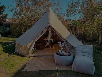 Our TIPI bell tent all setup on private ground on the Mornington Peninsula. All our TIPI's are completely styled and create the best Glamping experiences in Victoria, Melbourne.