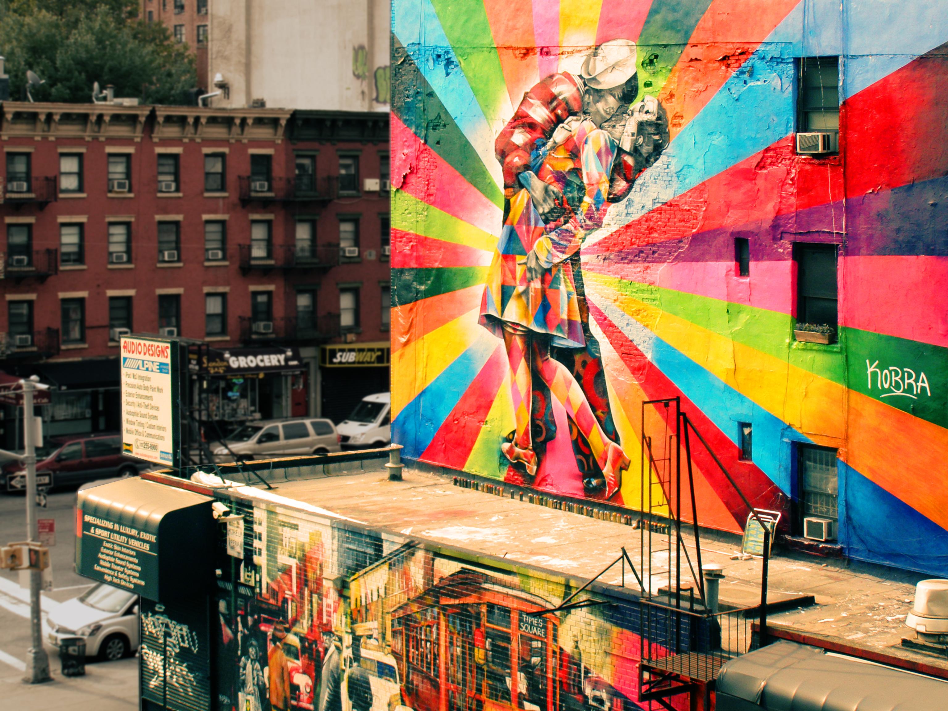 Street art dans la boîte !