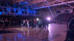 Chamber sings the Alma Mater