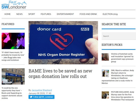 BAME lives to be saved as new organ donation law rolls out