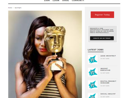 "In the spotlight: Amma Asante – talent, tenacity and a large helping of ""I am"""