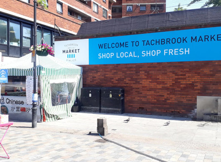 BBC Radio London report: Tachbrook Market re-opens in Westminster as lock-down is loosened