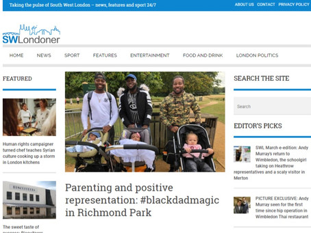 Parenting and positive representation: #blackdadmagic in Richmond Park