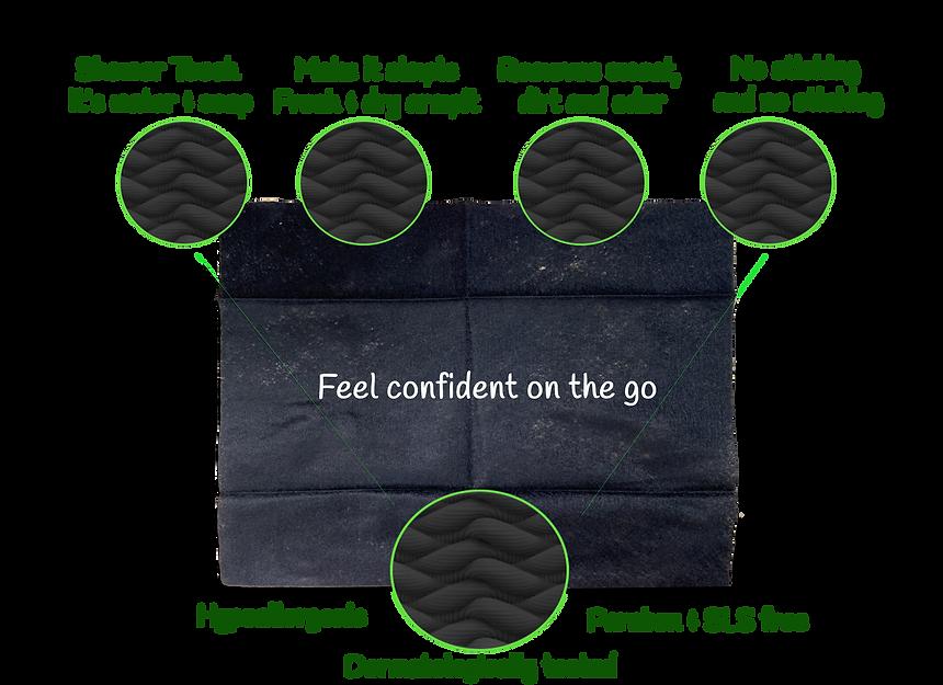 vitawipes deodorant wipes hypo derma