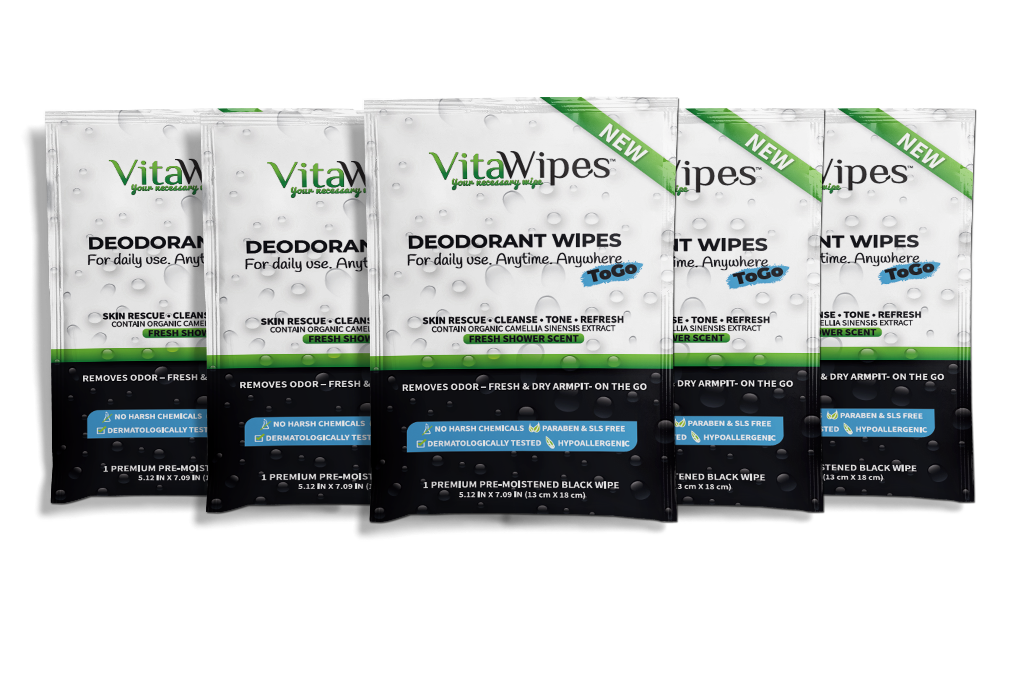 DEODORANT WIPES vitawipes