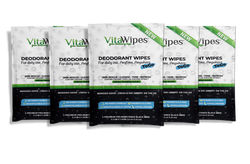 DEODORANT WIPES vitawipes