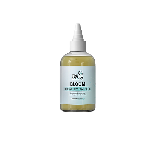BLOOM   Multi-Vitamin Healthy Hair & Scalp Nourishing Growth Oil 4OZ