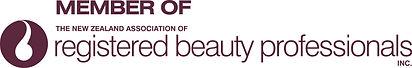 NZ Assoc of Reg Beauty Professionals log