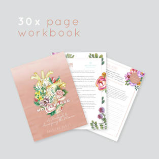 The Heart and Flow of Motherhood Workbook