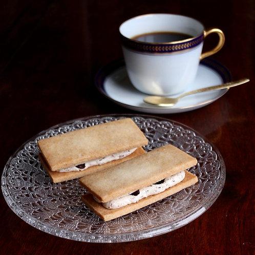 《Patisserie》レーズンサンド(10枚入・グルテンフリー). Raisin Cookie Sandwich (10 pieces, GF)