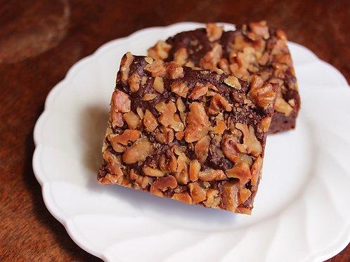 《冷凍》ナッツブラウニー(グルテンフリー). Nutty Brownie (GF, frozen)