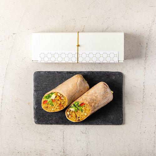 《店頭受渡し》自家製ドライカレーロール . <Collection Only> Handmade Tortilla Roll of Dried Curry