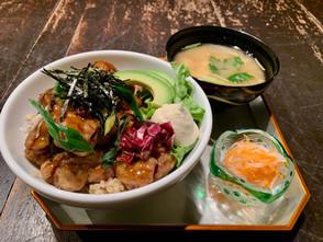 ◆京都店◆『ベジミート唐揚げの照り焼き丼&お味噌汁』