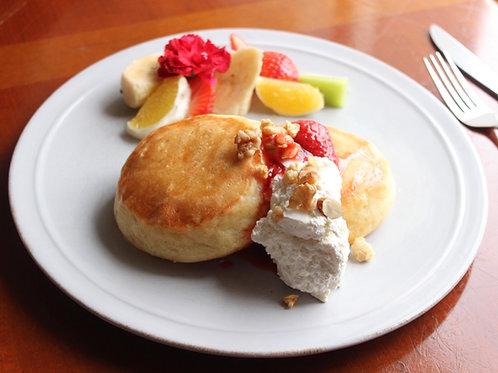 《Patisserie》天上のヴィーガンパンケーキ . Heavenly Vegan Pancakes