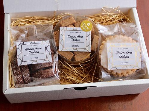 《Patisserie》グルテンフリークッキーアソート Mサイズ . Assorted Gluten Free Cookie Box (Medium)