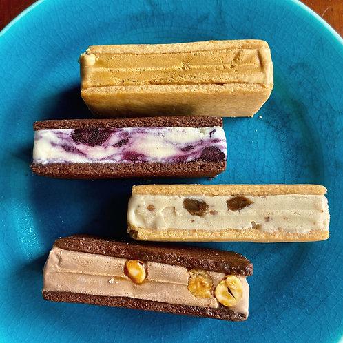 《Patisserie》アイスクリームサンド8個入(グルテンフリー・アルコールフリー) . Ice Cream Cookie Sandwich