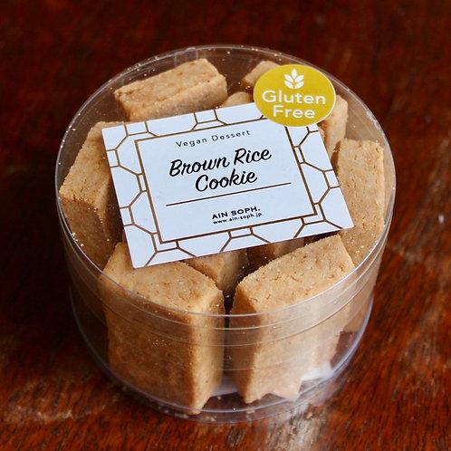 《Patisserie》玄米クッキー(グルテンフリー) . Brown Rice Cookies (GF)