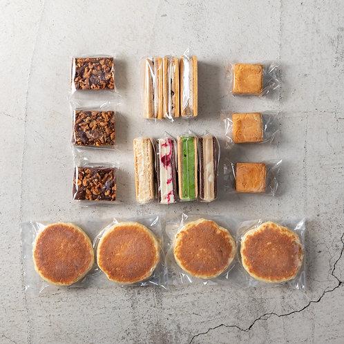 《Patisserie》 グルテンフリーバラエティパンケーキセットL . Gluten Free Box (Large)