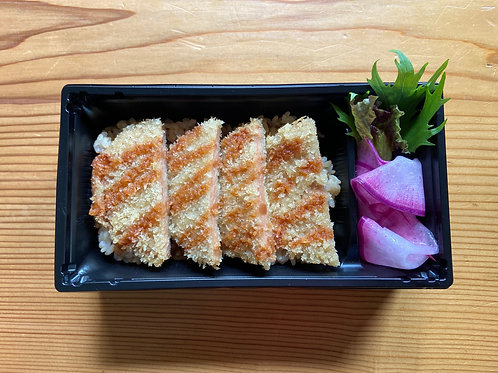 《平日限定・店頭受渡し》ヴィーガン カツ重(五葷抜き). <Collection Only> Vegan Katsu Bento