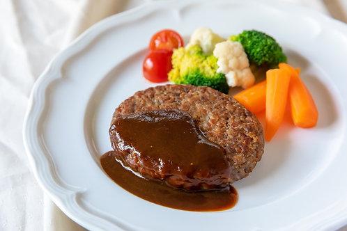 "《Grocery》VEGANハンバーグ(特製デミグラスソース付き). ""Hamburger Steak"" Patty (Demi Glace sauce)"