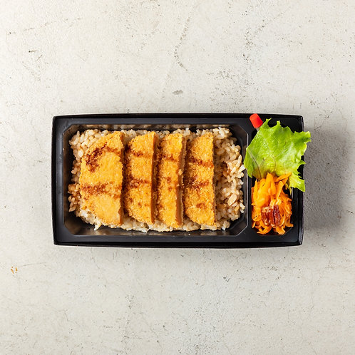 《店頭受渡し》ヴィーガン カツ重(五葷抜き). <Collection Only> Vegan Katsu Bento