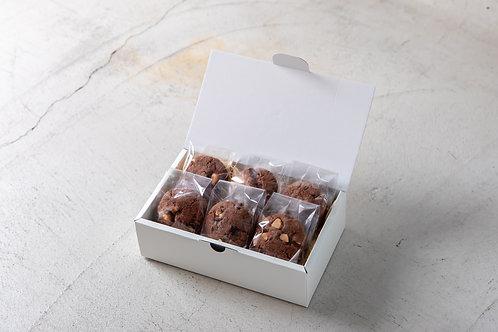 《Patisserie》グルテンフリーマカダミアナッツチョコクッキー.  Macadamia Nut Cookie Bites (GF)