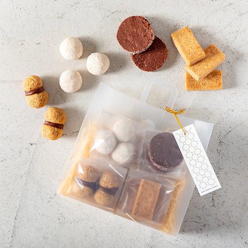 《Patisserie》4種グルテンフリークッキーアソート 【ソレイユ】.ー SoleilーAssorted Gluten Free Cookies