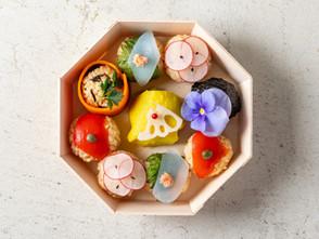 銀座店 ひな祭り限定「姫てまり寿司」
