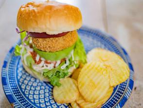 新宿店 lunch限定バーガー